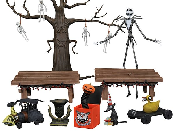 DST Reveals 3000 LE The Nightmare Before Christmas Deluxe Figure Set