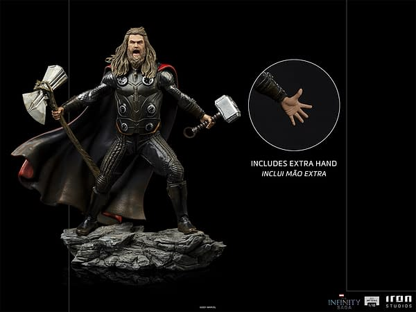 Thor Summons A Storm With New Avengers: Endgame Iron Studios Statue