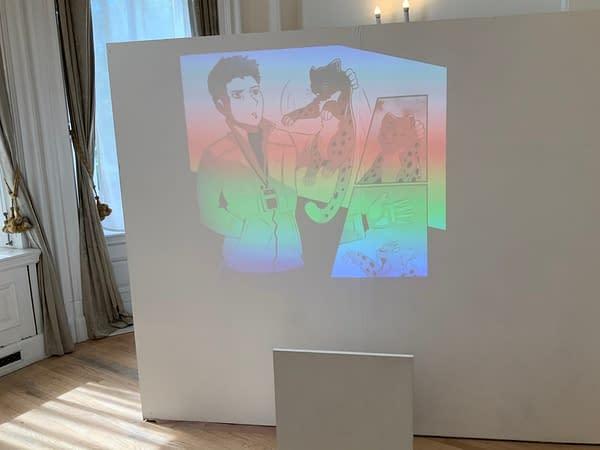 Manga Jiman Winners Exhibition at the Japanese Embassy in London