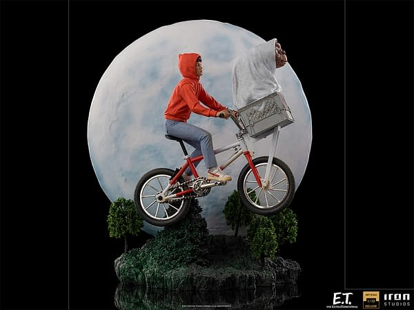 Iron Studios Reveals Incredible E.T. the Extra-Terrestrial Statue