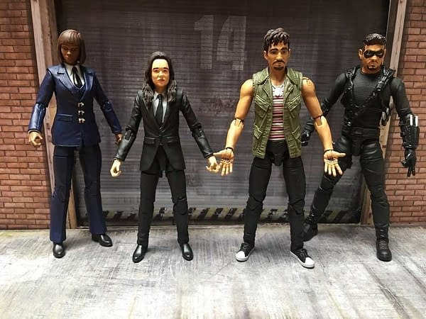Boss Fight Studio Reveals Their First The Umbrella Academy Figures