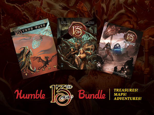 Humble Bundle Releases New 13th Age Bundle For Oceana