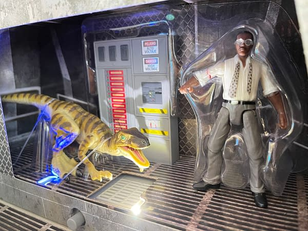 Relive Ray Arnold Final Jurassic Park Scene with Mattel for SDCC