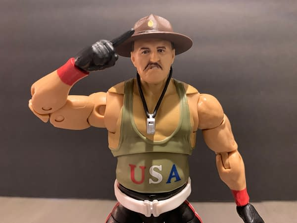 WWE Ultimate Edition Sgt. Slaughter Is A Must-Get Maggots!