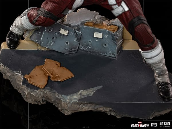 Red Guardian Stands His Ground With New Iron Studios Statue