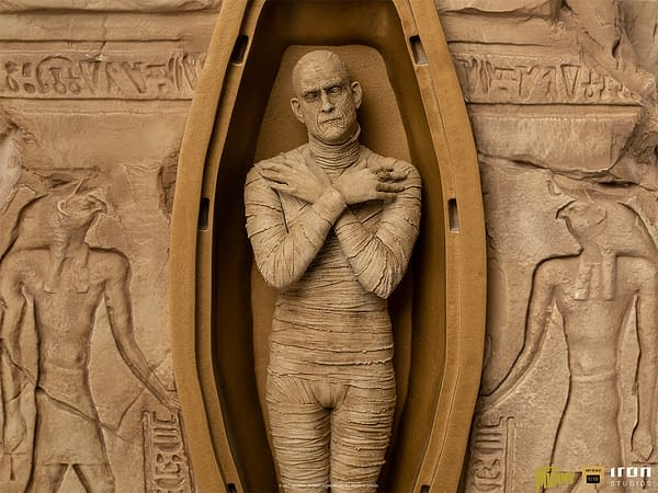 The Mummy (1932) Returns With New Deluxe Iron Studios Statue