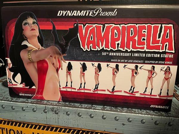 Celebrate 50 Years of Vampirella With Dynamite Entertainment