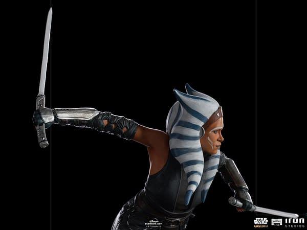 Ahsoka Tano is Back With New Star Wars Iron Studios Statue