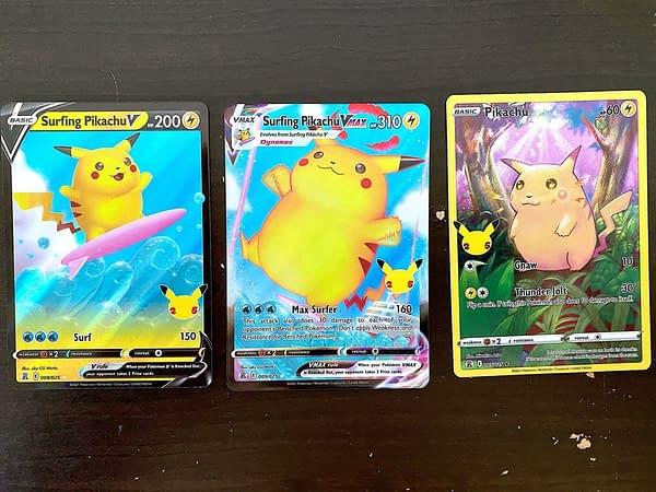 Celebrations cards. Credit: Pokémon TCG