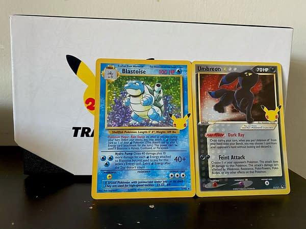 Classic Collection cards. Credit: Pokémon TCG