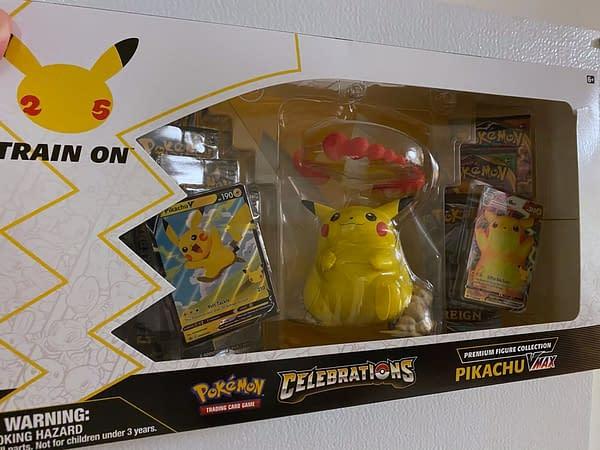 Pikachu Figure Collection. Credit: Pokémon TCG