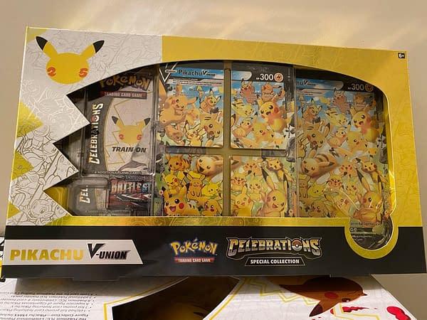 Pikachu V-UNION Collection. Credit: Pokémon TCG