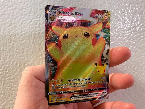 Pikachu VMAX Promo. Credit: Pokémon TCG