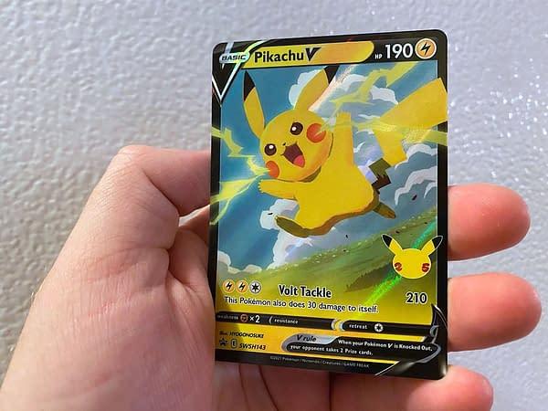 Pikachu V Promo. Credit: TPCI
