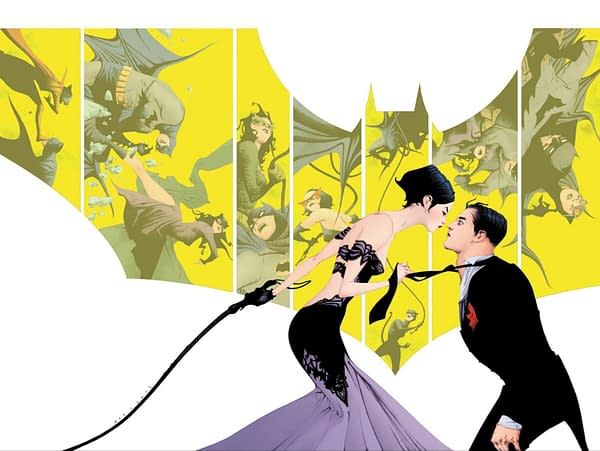 Jae Lee's Process Art for His Batman #50 Retailer Exclusive Cover