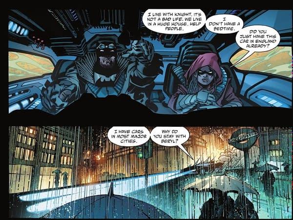 Batman: The Detective Thinks Paris Is West Of London? (Spoilers)