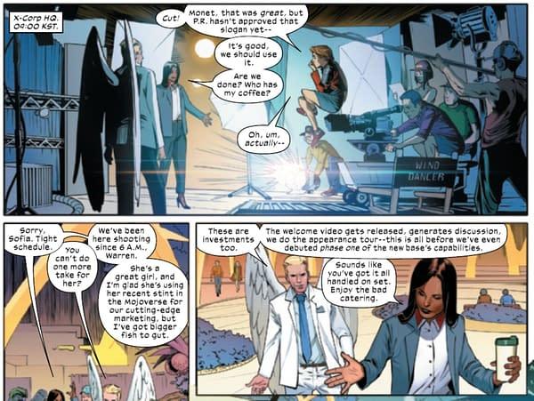 Krakoa Today- the Mutant Revolution will be Televised by Sofia Mantega
