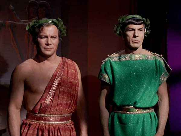 Wanna Buy Spock's Toga from 'Star Trek: The Original Series' at Auction?