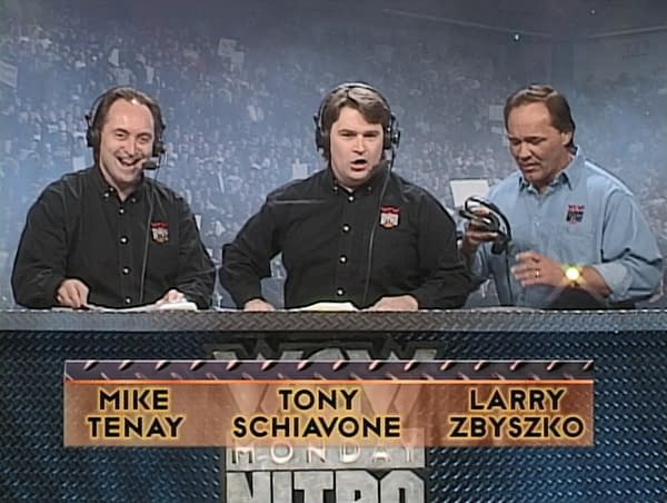 """Eric Bischoff Blames Failed WCW Sale on Tony Schiavone's """"Jugs Magazine"""" Collection"""