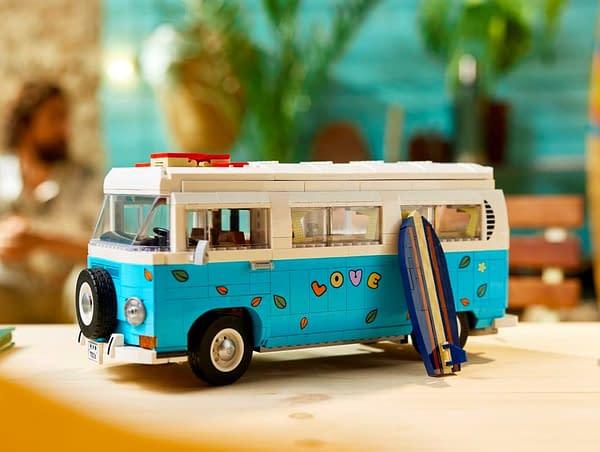 Vacation in Style With LEGO's New Volkswagen T2 Camper Van
