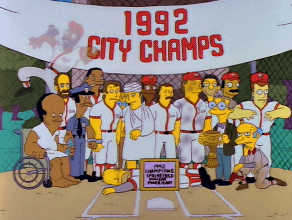 Homer Simpson Springfield Isotopes