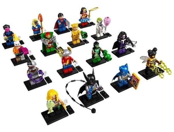 Dc Super Heroes Mystery Bag LEGO Mini Figures Coming Soon