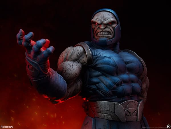 Darkseid Reigns Supreme With New Sideshow Collectibles Statue