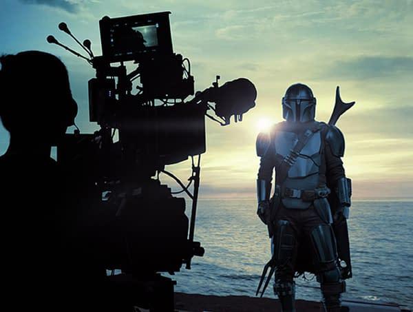 The Mandalorian Season 2 Goes Gallery; Robert Rodriguez/Baby Yoda Jam