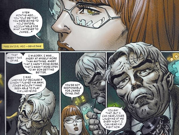 Barbara Gordon Gets New Look & Status From DC Comics Today (Spoilers)