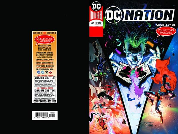 Comic Stores Can Customise DC Nation #0 if They Order 5000 or More