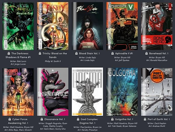 Top Cow is Selling a Sci-Fi & Sex Humble Bundle to Benefit California Wildfire Victims