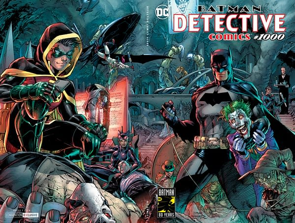 DC Brings Exclusive Foil Variants to Batman's Birthday Party at WonderCon