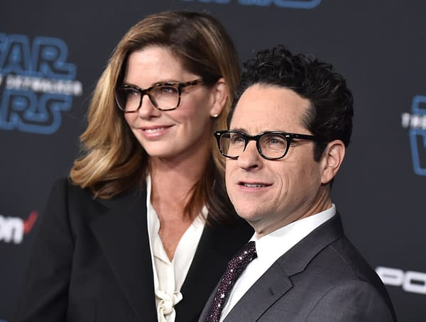 """J.J. Abrams and Katie McGrath arrives for the """"Star Wars: The Rise of Skywalker"""" Premiere on December 16, 2019 in Hollywood, CA (DFree/Shutterstock.com)"""