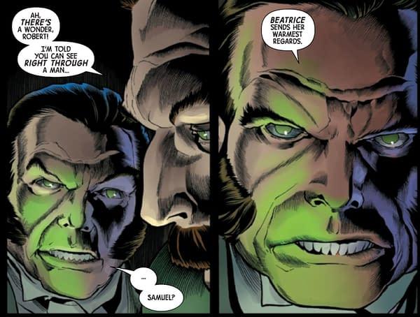 Immortal Hulk #50 by Al Ewing and Joe Bennett