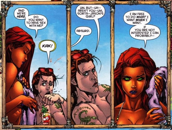 Behind The Scenes On Starfire And Red Hood And The Outlaws #1
