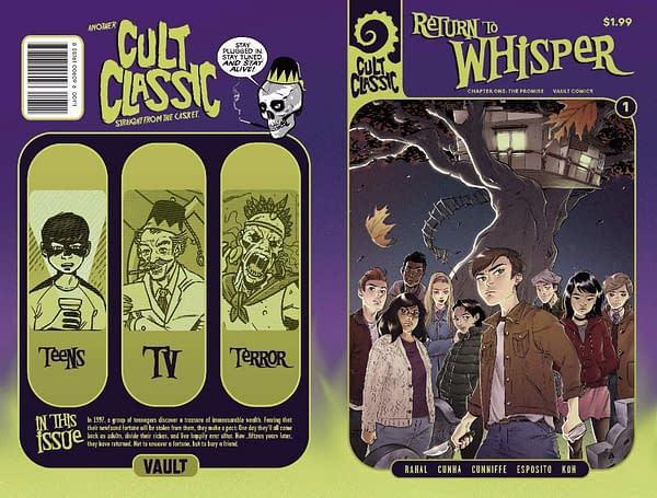 Cult Classic: Return to Whisper #1and Bloodborne #1 Go to Second Printings