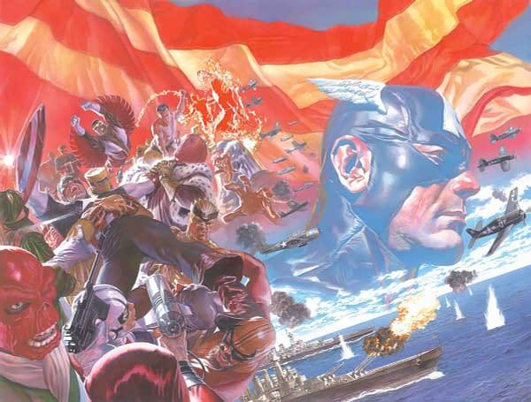 Sneak Peek: Captain America #1 by Ta-Nehisi Coates and Leinil Yu
