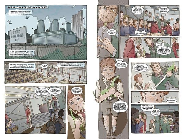 Olivia Twist: A Dickensian, Dystopian New Comic from Darin Strauss, Adam Dalva, and Emma Vieceli at Berger Books