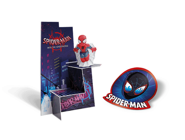 MARVEL SPIDER MAN INTO THE SPIDER-VERSE COUNTDOWN COLLECTION - oop