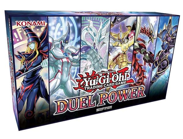 Konami Releases Info on Upcoming Yu-Gi-Oh! TCG Duel Power Cards