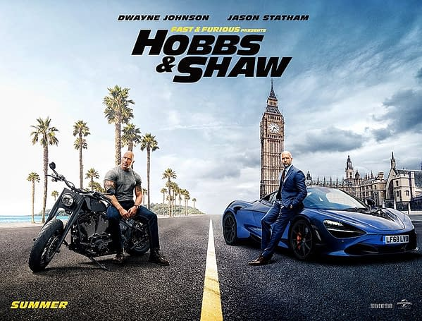 The Rock Says First Trailer for 'Hobbs & Shaw' Coming TOMORROW