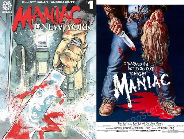Separated At Birth: Maniac Of New York and Maniac.