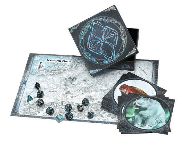 A look at the full set of contents, courtesy of Wizards of the Coast.