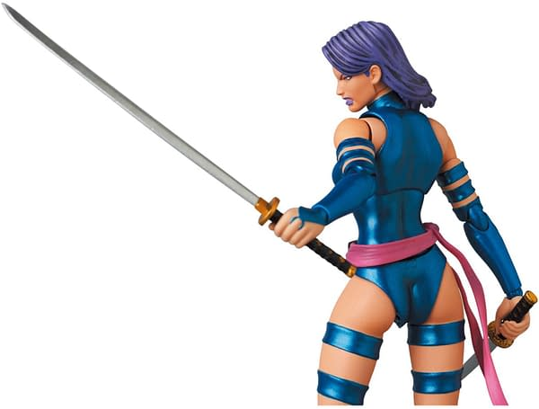 X-Men Psylocke Hold the Power with New MAFEX Figure