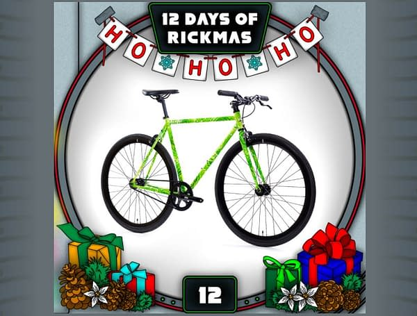 Rick and Morty: The 12 Days of Rickmas Day #12 (Image: Adult Swim/State Bicycle Co.)