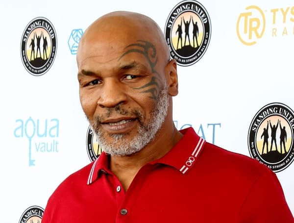 LOS ANGELES - AUG 2: Mike Tyson at the Mike Tyson Celebrity Golf Tournament at the Monarch Beach Resort on August 2, 2019 in Dana Point, CA (Kathy Hutchins / Shutterstock.com)