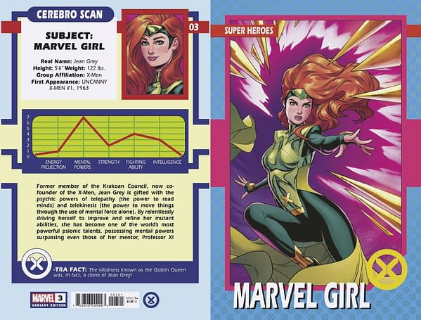 Cover image for X-MEN #3 DAUTERMAN TRADING CARD VAR