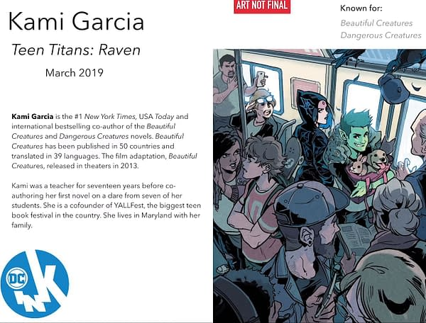 Beautiful Creatures' Kami Garcia Starts Line of Teen Titans Graphic Novels, Before They Were Superheroes