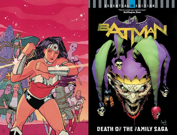 DC Comics Cancelled Collections – Batman: Death of the Family and Wonder Woman: Blood And Guts