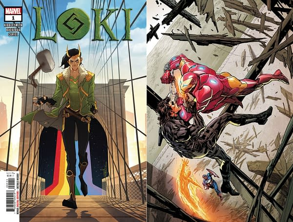 Marvel Comcis to Overship Loki #1 and Invaders #7